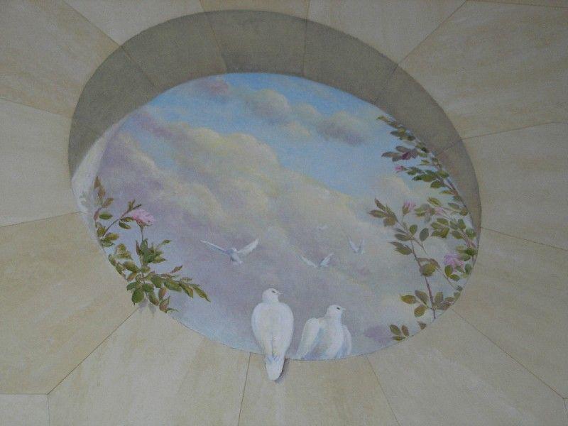 trompe l 39 oeil 39 oeil de boeuf 39 window 10 art fresques et. Black Bedroom Furniture Sets. Home Design Ideas