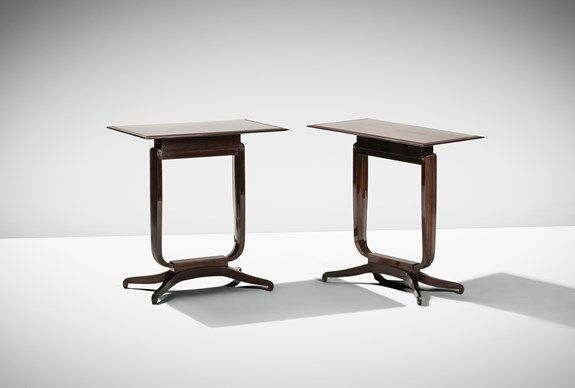 Emile-Jacques Ruhlmann, Pair of Side Tables 'Bloch', Paris, 1926 #inlarariastudio #inspo