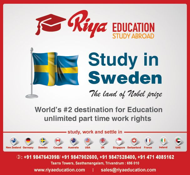 Study Abroad In Sweden Sweden Has A Lot To Offer International Students Given Its High Quality Of Education And Liberal Cultur Sweden Education Study Abroad