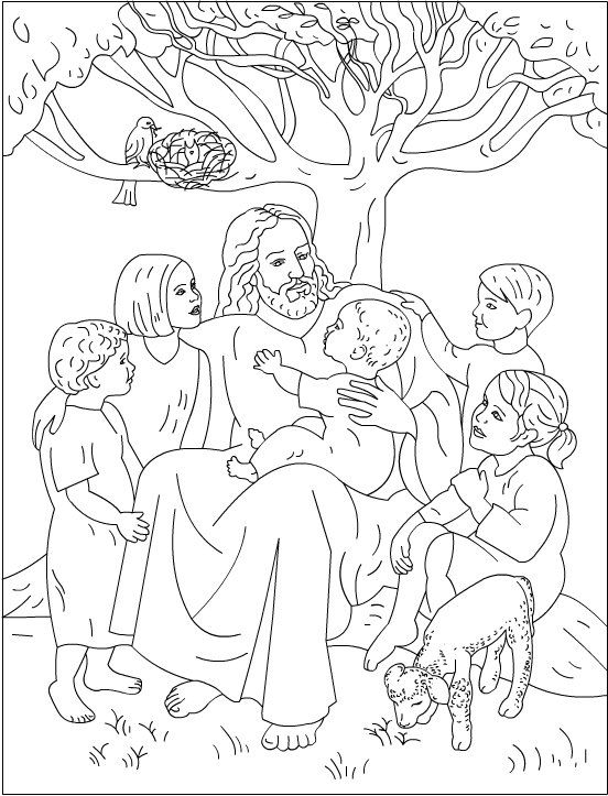 Nicole's Free Coloring Pages: Jesus Loves Me * Bible Coloring Pages Bible  Coloring Pages, Sunday School Coloring Pages, Bible Coloring