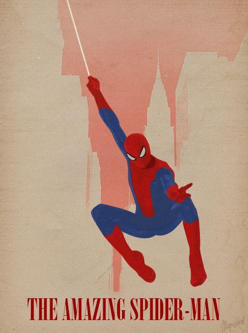 Minimalist Poster: The Amazing Spider-Man