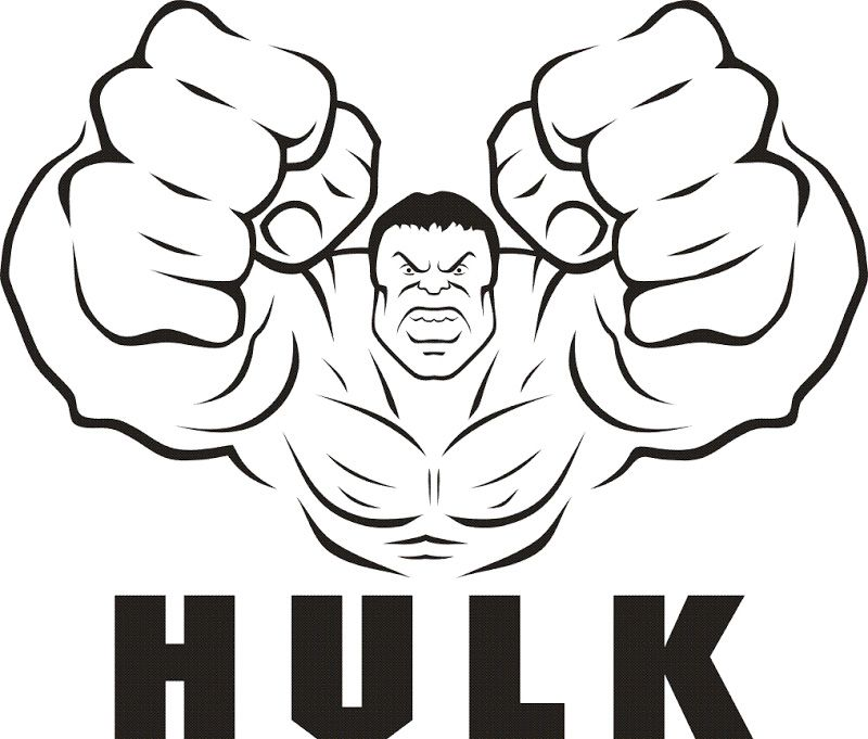 Incredible Hulk Coloring Pages Printable Freecoloring Pagesorg