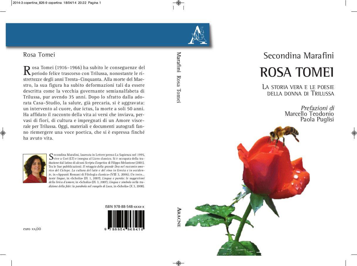 La poetessa Rosa Tomei (1916-1966) è una poetessa ancora oscura nel panorama della letteratura italiana. Intelligente e perspicace, Rosa ha subito nel tempo le conseguenze del grande Amore e del periodo felice vissuto con Trilussa. L'avvincente racconto della vita e l'appassionato commento interpretativo delle opere rinvenute hanno fatto riemergere dal passato la figura e la voce della poetessa, che ha continuato a parlare in versi fino a pochi mesi prima di morire.
