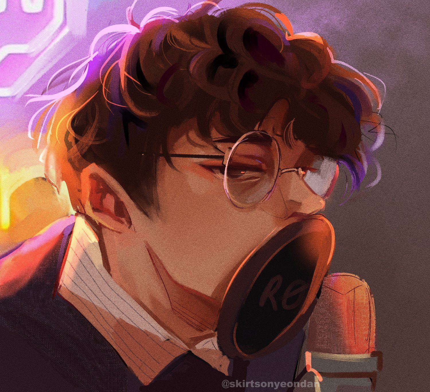 """L but gayer on Twitter: """"messing around with brushes #wilbursootfanart… """""""