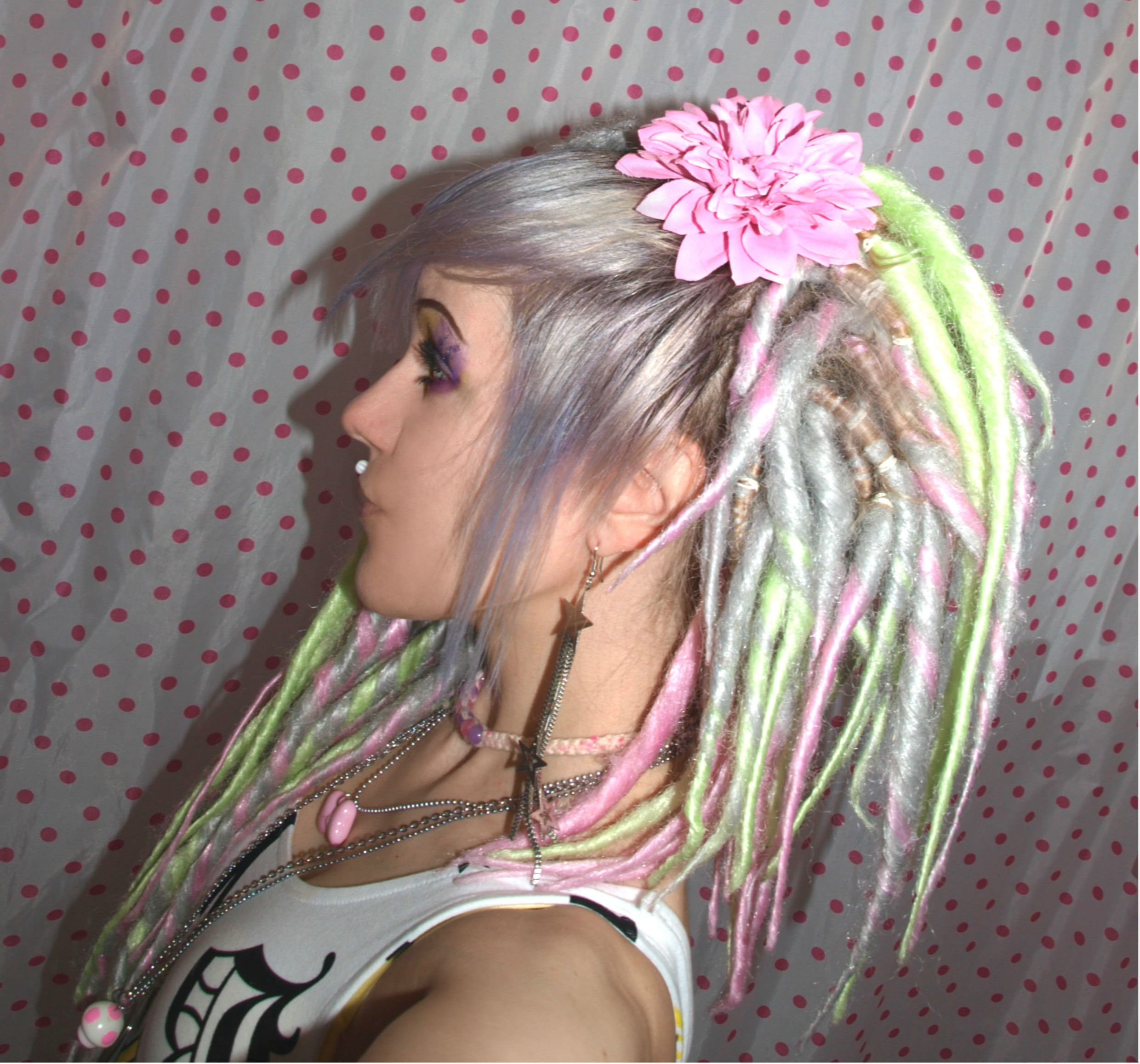 fake dreads for short hair Google Search Hair