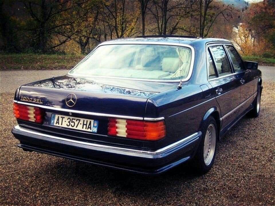 1985 Mercedes-Benz 1000 SEL (W126)