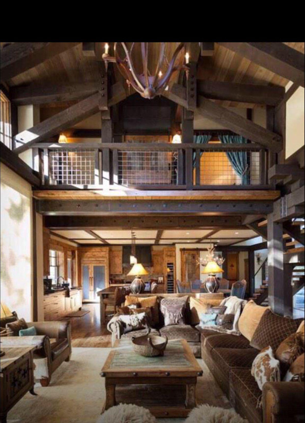 Austin Cabin   Rustic   Living Room   Sacramento   High Camp Home