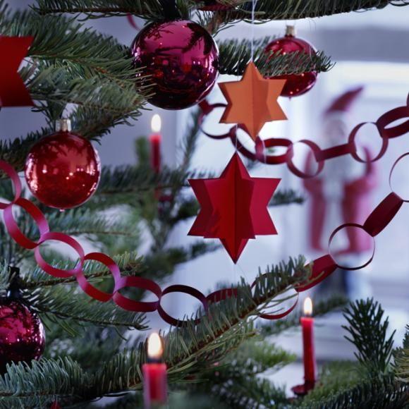deko mit sternen ideen zu weihnachten und selber machen dreidimensionale sternenanh nger. Black Bedroom Furniture Sets. Home Design Ideas
