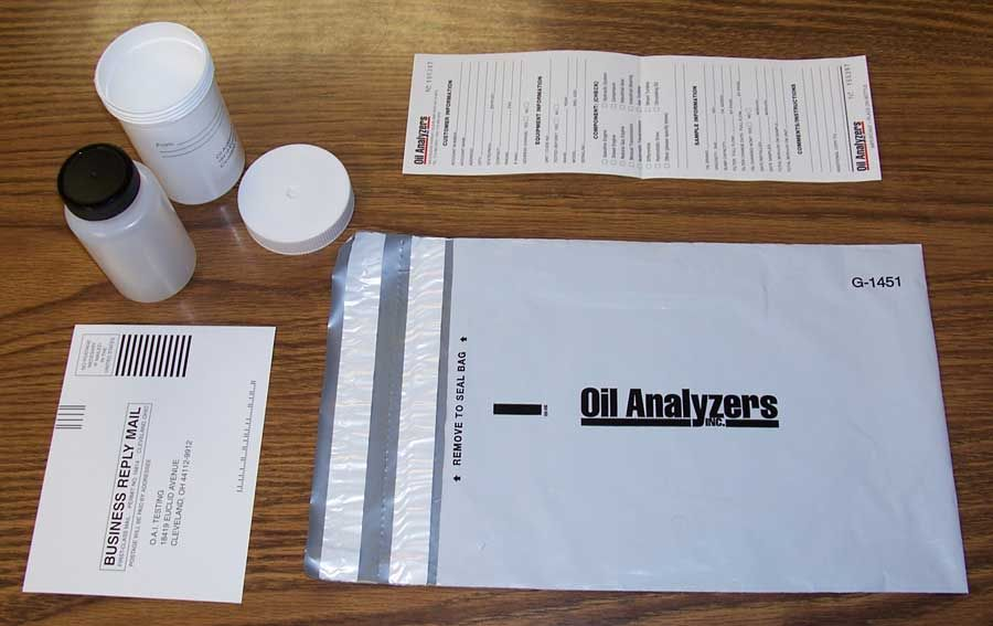 Tank Oils Has Oil Analysis Kits From Amsoil By Analyzing Used