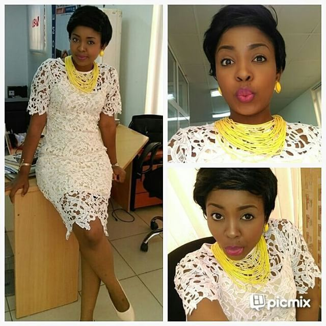 From Fashion Police Nigeria Beautiful Guipure Lace Dress Things To Wear Pinterest Lace