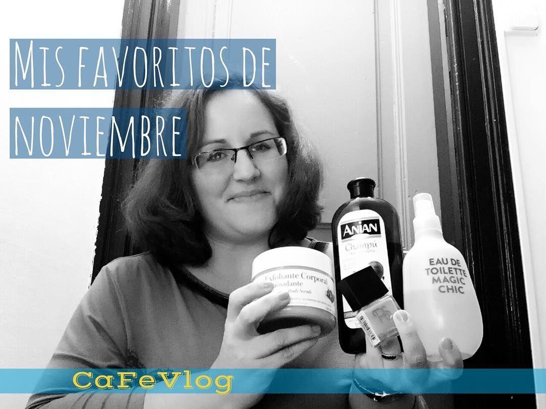 Esta semana  os cuento cuales son mis 5 productos favoritos del mes  en mi canal de YouTube . ( link directo en la bio )  . . #favoritos #video #blogger #youtube #noviembre #beauty #cosmética #lowcost