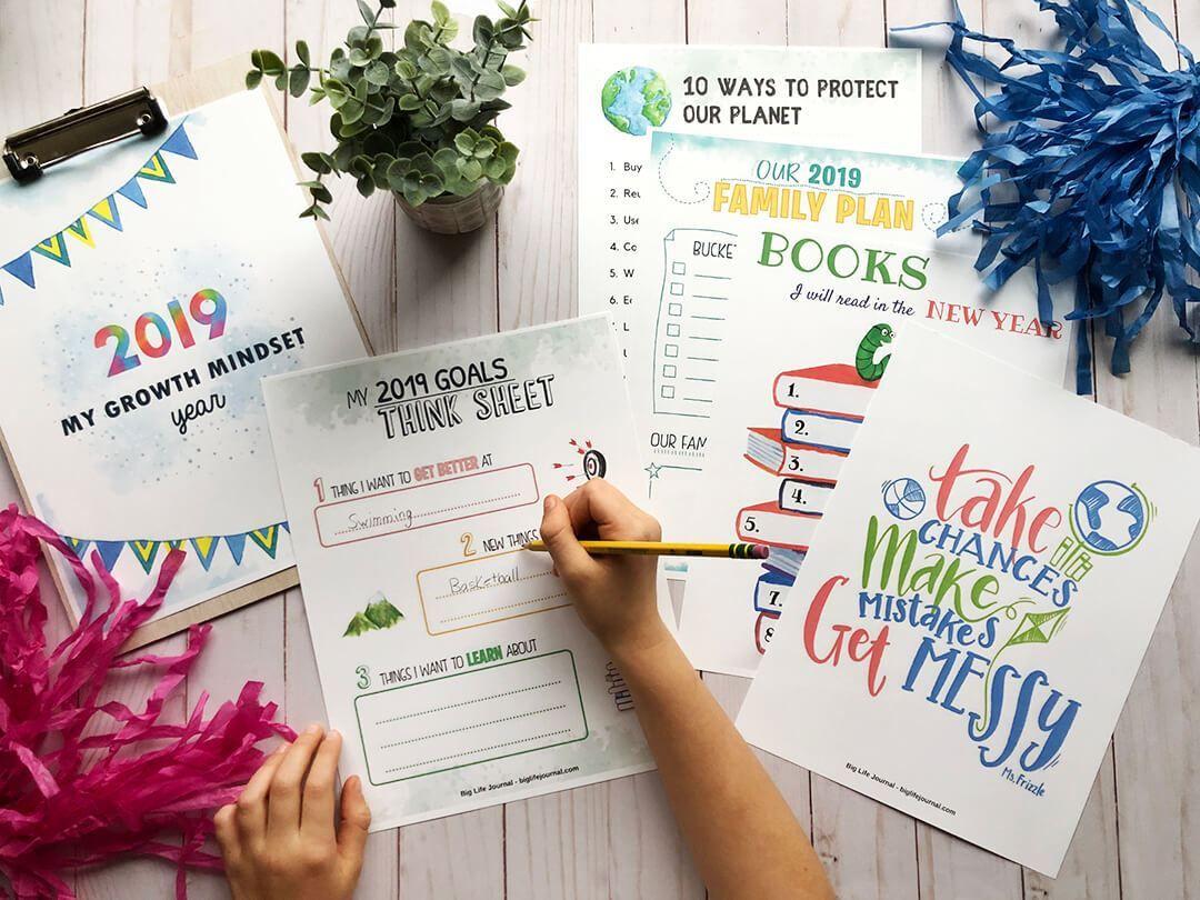 2020 New Year Kit PDF (ages 410) Goal setting