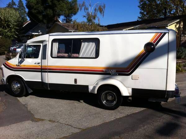 1979 Dodge Transvan Camper $5000 | Van | Recreational