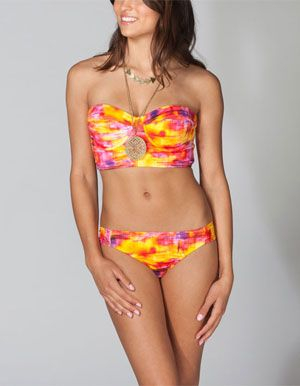 f48ade2b0b Discover all the bikini tops you can wear! Tillys has the latest bathing  suit top styles - from halter to high-neck