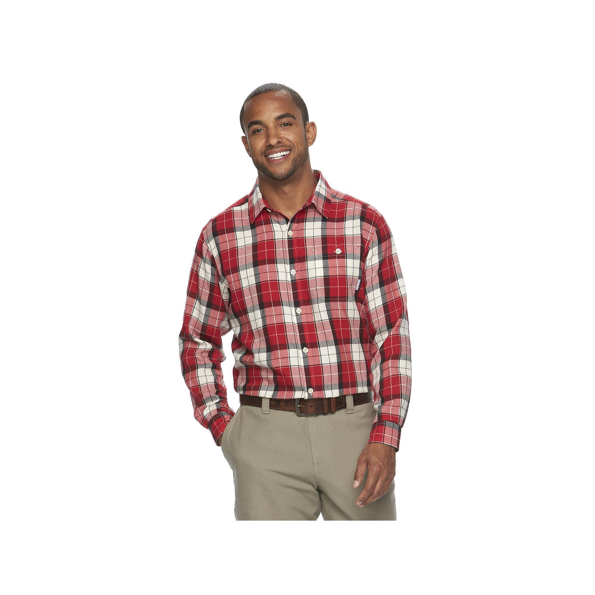 Flannel shirt season  Columbia Menus Notched Peak ClassicFit Plaid ButtonDown Flannel