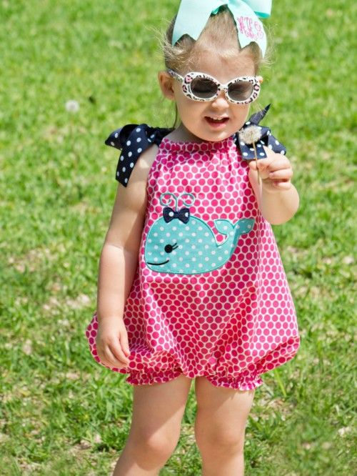 Baby Pillowcase Romper Tutorial: Baby Bubble Romper PDF Sewing Pattern   Whimsy Couture Products    ,