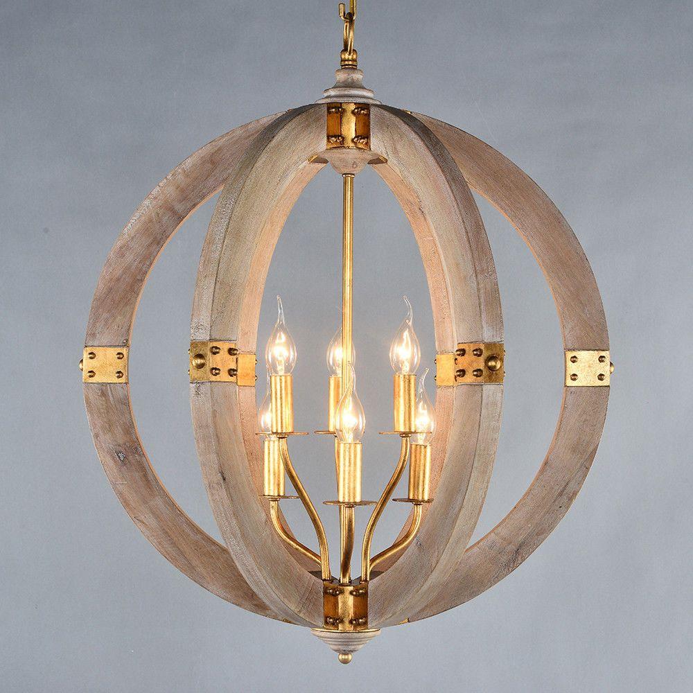 6 light globe chandelier orb pendant sphere lamp vintage style metal 6 light globe chandelier orb pendant sphere lamp vintage style metal hanging lightingever aloadofball Gallery