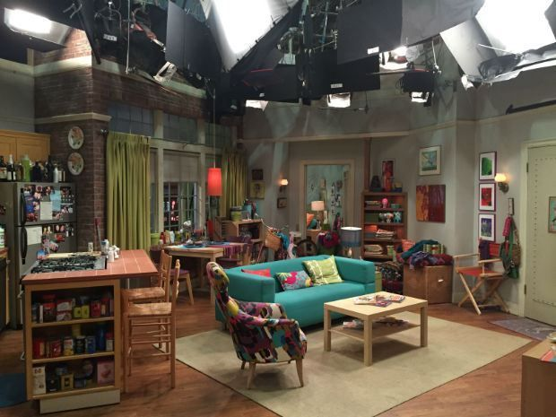 Penny\'s Apartment on BigBangTheory. | Big Bang Theory Set | Pinterest