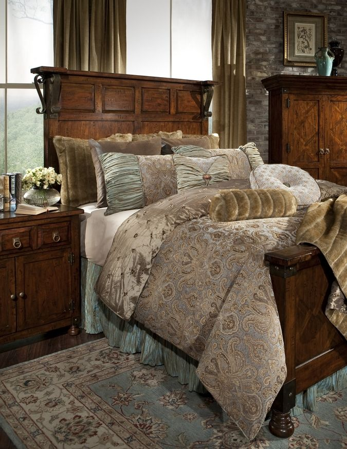 Beautiful beding from Silverado Home. New West Look