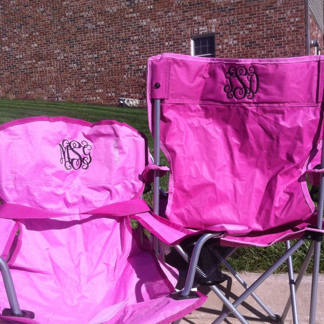 Monogrammed Chairs... HAVE TO DO THIS!! This Would Be Soo