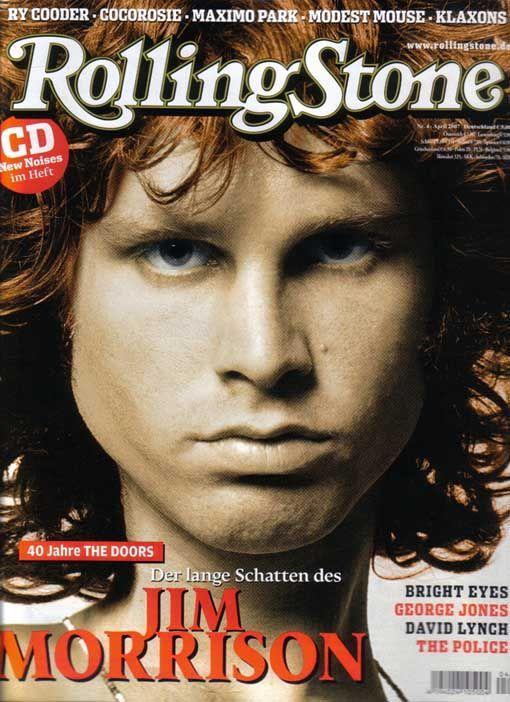 First Flash Of Eden - I Doors sulla rivista Rolling Stone tedesca