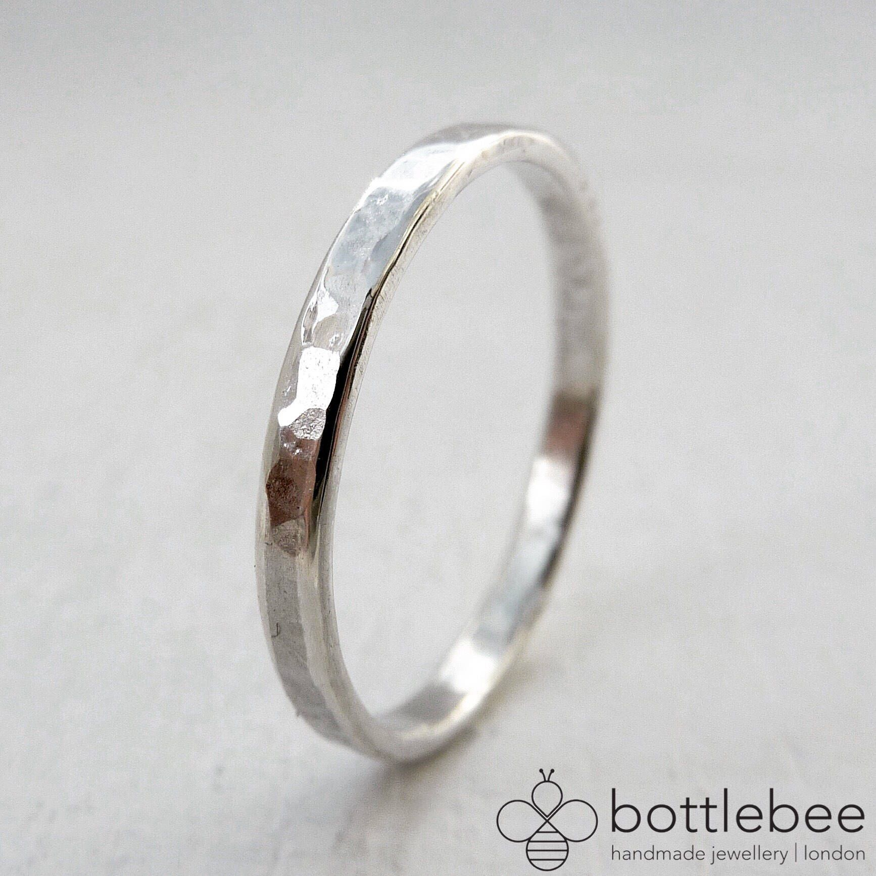 Thin Sterling Silver Wedding Band Thin Sterling Silver Etsy Silver Wedding Bands Mens Wedding Bands Sterling Silver Wedding Band