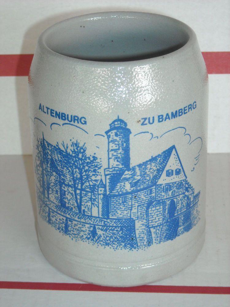 Altenburg Zu Bamberg 0.5 L Beer Stein Bamberger Jahreskrug 1984 H. Manger Mug #stein #Jahreskrug #Bamberg