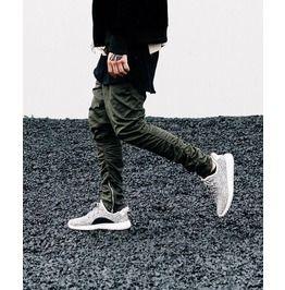 Side Zipper Jogger Pants in 2020