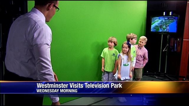 Westminster Schools Of Augusta Kindergartners Tour Television Pa