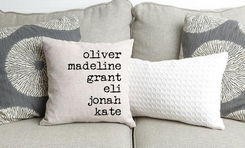 Personalised Birthday Gift Pillow Case