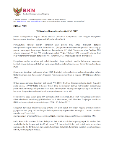 41+ Berapa gaji p3k asn 2019 cpns 2021