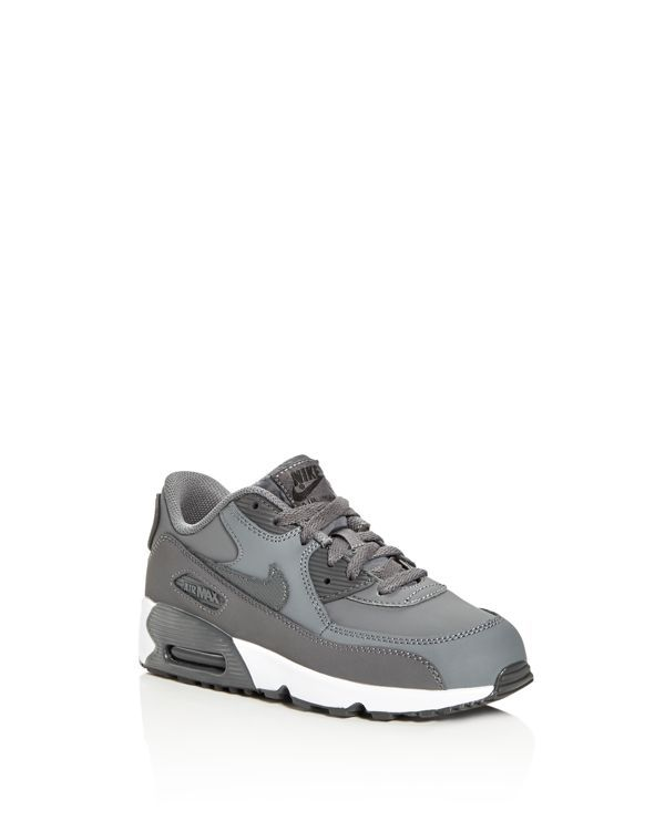 Nike Boys' Air Max 90 Ltr Lace Up Sneakers - Toddler, Little Kid