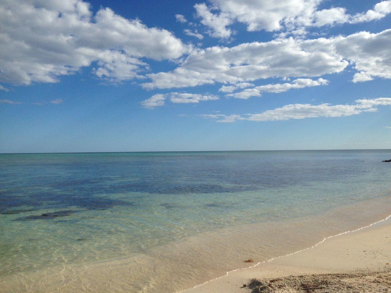 Tankah Bay in front of Casa Rosa!