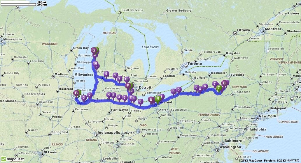 Mapquest Michigan Map.Driving Directions From Manistee Michigan To Manistee Michigan