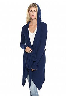 Free People Sloane Hooded Wrap Cardigan | Wrap cardigan, Free ...