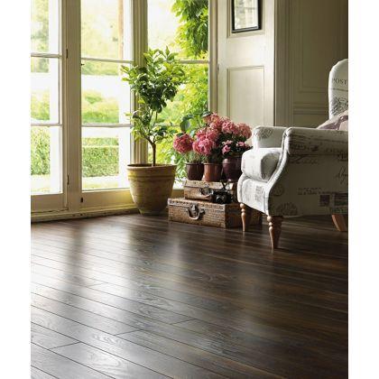 Schreiber Narrow Plank Laminate Flooring Rich Walnut 128 Sq M