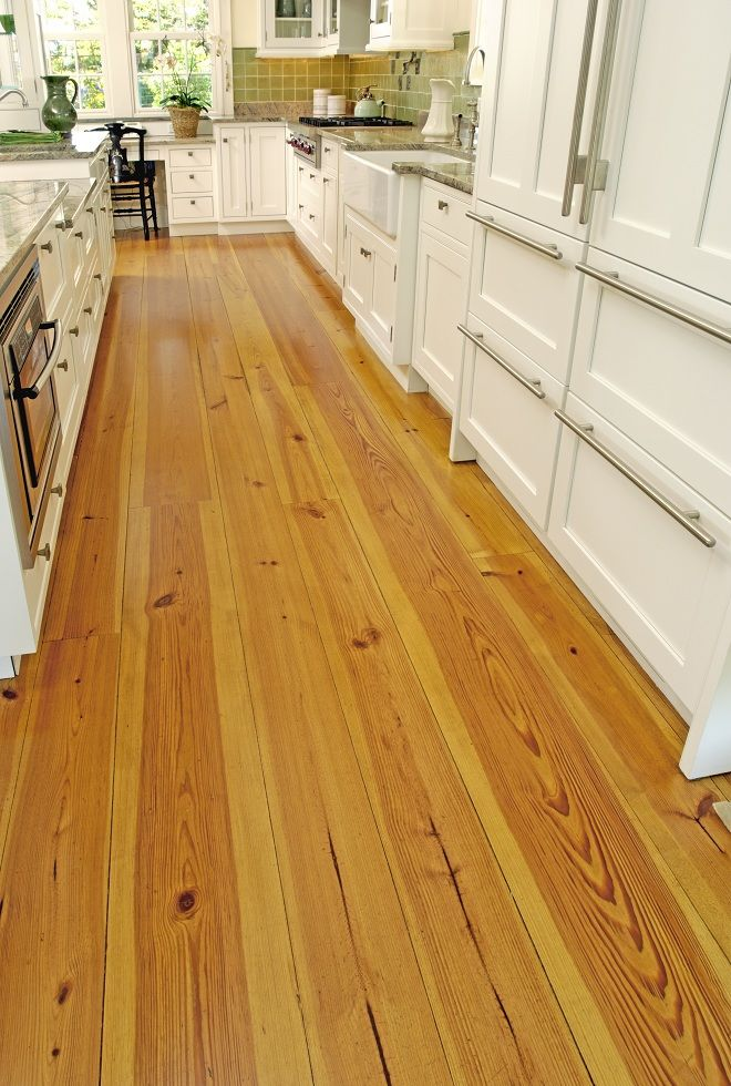 Heart Pine Floor Love The Look Of Too Cottage Home