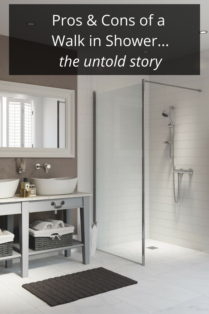 the pros and cons of a walk in shower the untold story bath shower ideas bathroom and glass. Black Bedroom Furniture Sets. Home Design Ideas