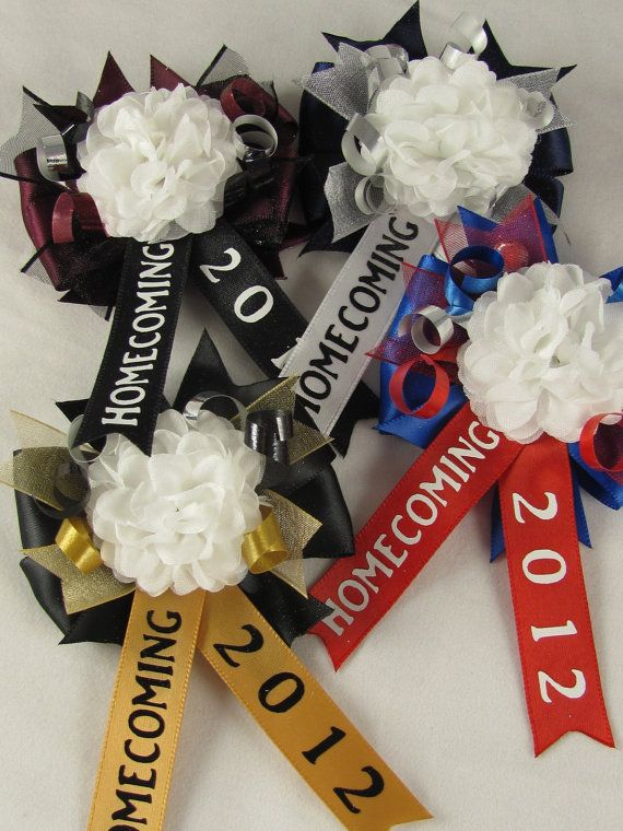 Items similar to Homecoming Mum Hair Clip or Pin on Etsy