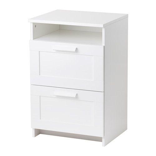 brimnes commode 2 tiroirs ikea les tiroirs qui sont faciles a ouvrir et a fermer sont equipes d apos arrets