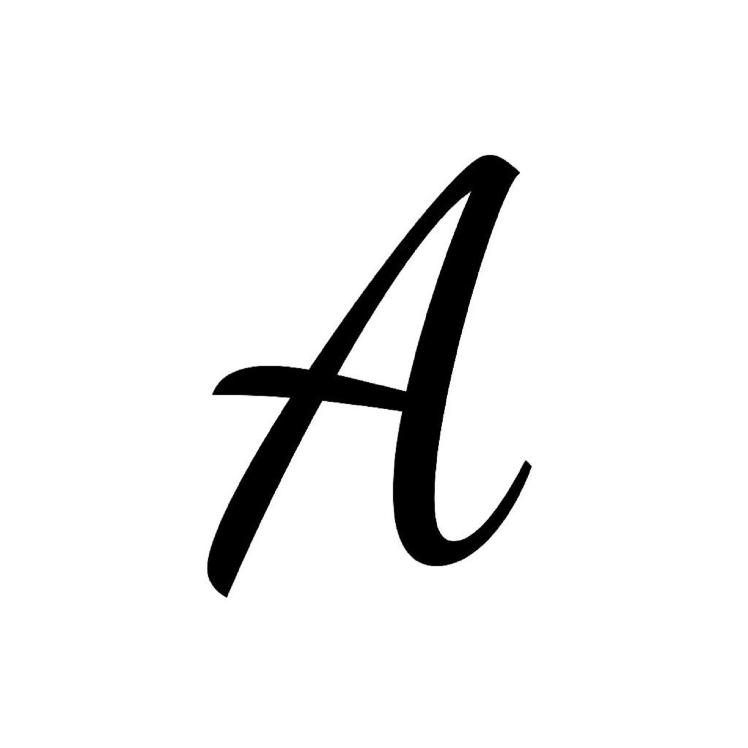 Letter A Printable For First Letter Introduction