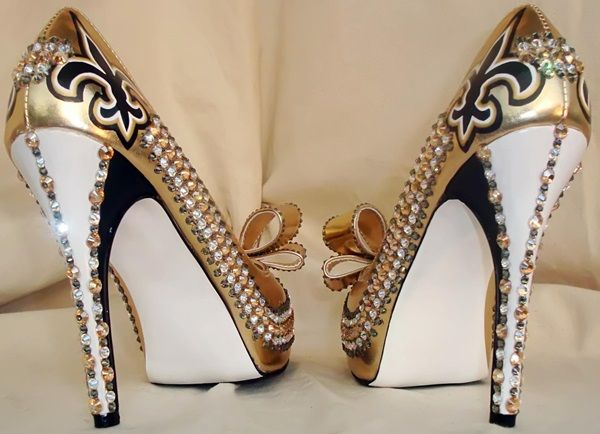 Stunning Shoe Designs by Tattoo Tina