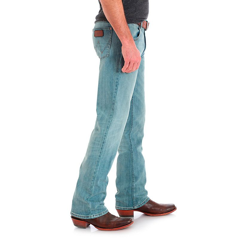 63163bc2 Men's Wrangler Retro® Slim Fit Bootcut Jean | Products | Jeans size ...