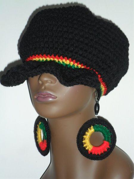 Want This Rasta Rasta Colors Crochet Hats Jamaica