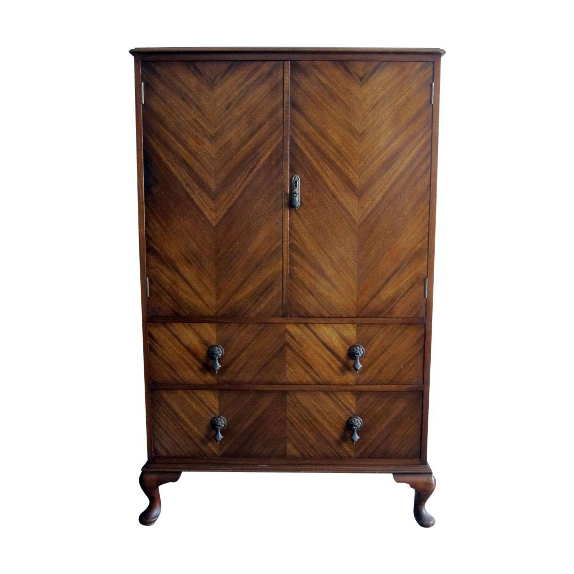 Waring & Gillow Veneered Millinery Cabinet