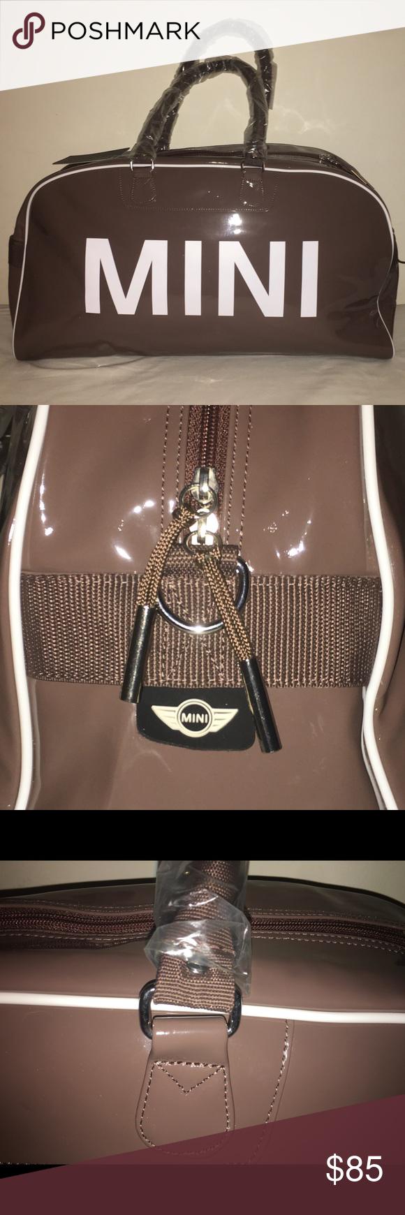 Mini Cooper Duffle Bag Chocolate Brown Large Mini Duffle Bag Bags Duffle
