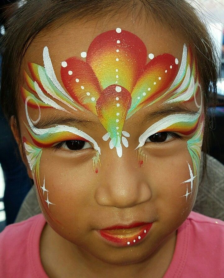 Exotic Face painting by GemFaceNY.com