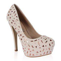 Haut En Chaussures Escarpins CompenséA Talon Clou Metal Aiguille eWYIED29H