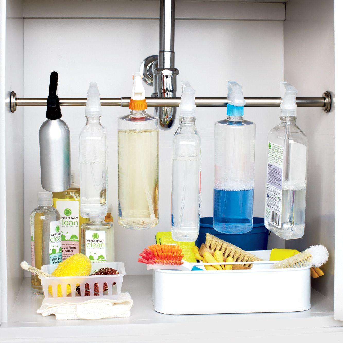 Organizing under your sink mount options kitchen essentials and