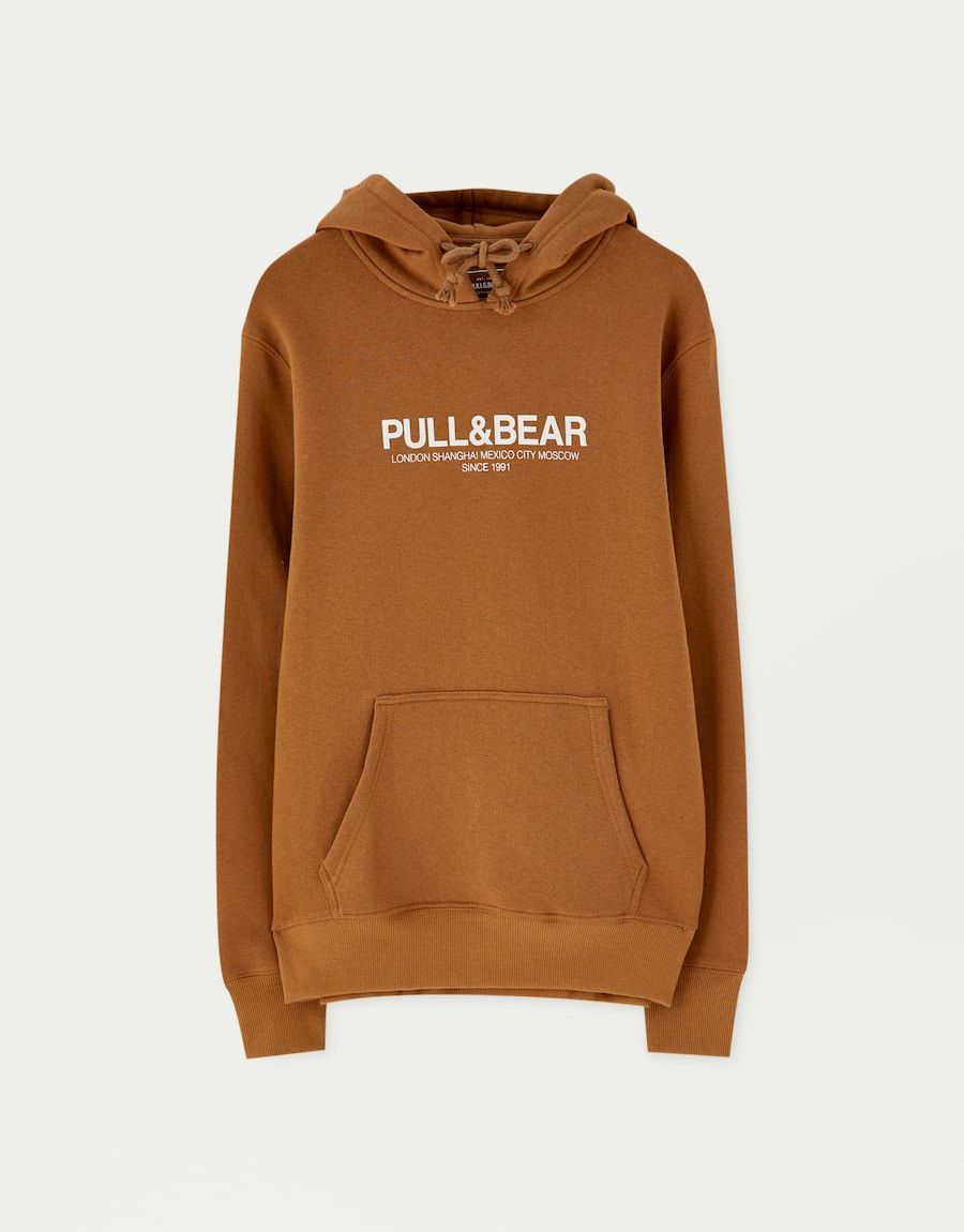 sweat a capuche homme pull and bear